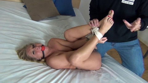 Ball gags perverted legs