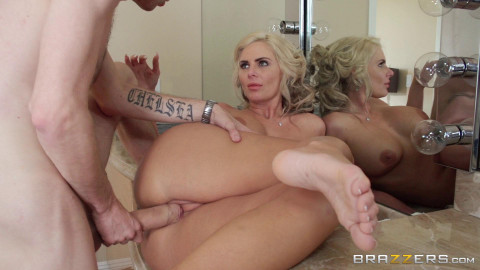 Guy Spends A Day With Hot Blonde Milf