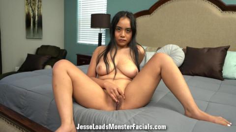 JesseLoadsMonsterFacials - Luna Mills
