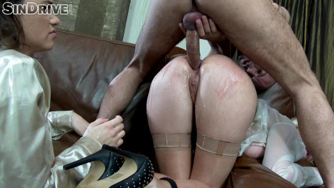Gladly Ass To Mouth Sucking The Goo Right Off That Lucky Dick