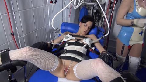 Suction, Staples and Needles - Mistress Miranda and Elise Graves - Full HD 1080p