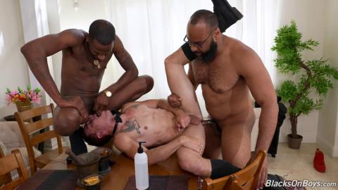 BlacksOnBoys - Barret Dean, Ray Diesel and Deepdicc