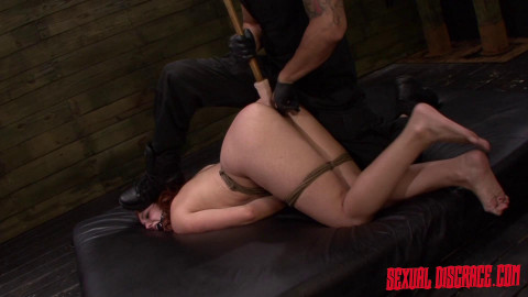Rope Bondage With Rough Anal