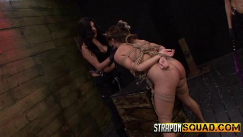 Straponsquad - Apr 17, 2015 - Mena Li Needs More Slut Training