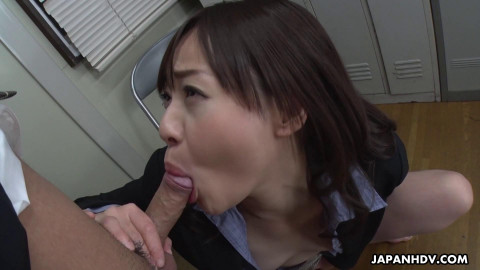 Asuka Kyono - Blows Her Colleague In The Office (2020)