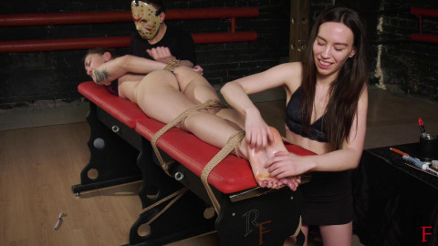 HD Dominance and submission Sex Vids Tickling hell for Mora