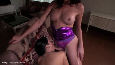 Jonelle Brooks & Natty Enjoy Creampie Bareback Sex