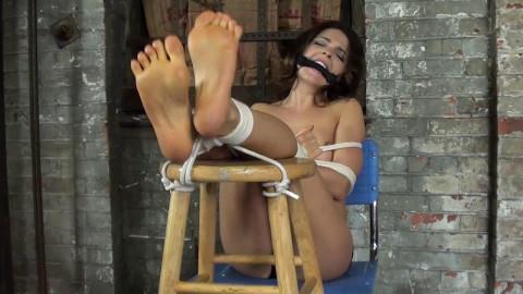 Brooke Bound Feet Exposure Taken (2017)