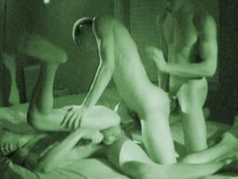 Dorm Life Night Vision Gangbang