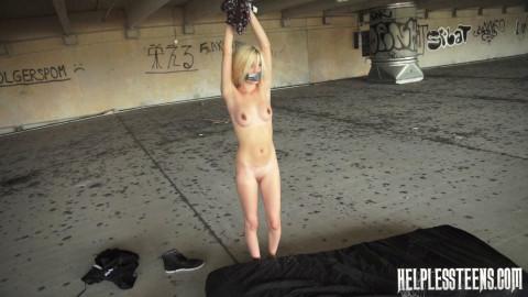 Piper Perri Endures Outdoor Bondage, Domination Rough Sex for Help (2014)