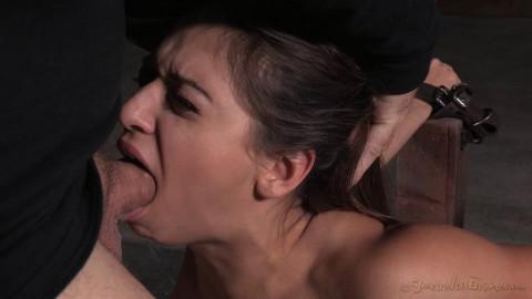 Drooling deepthroat
