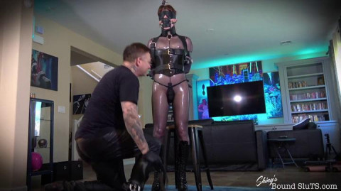 ShinysBoundSluts - Natalie Mars - Chaste Submissive Part FIRST