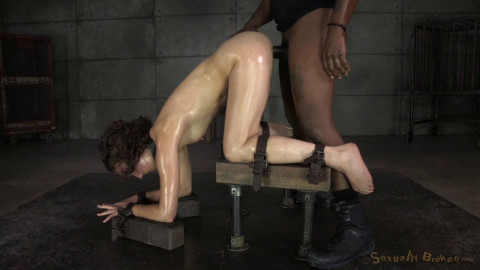 Hot slave roughly fucked & messy drooling brutal deepthroat!