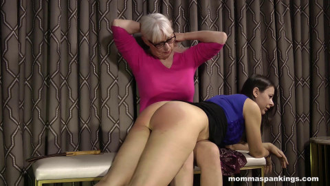 MommaSpanking - The disappointing ter full