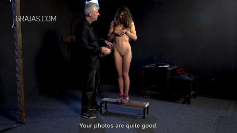 First punishment for young model
