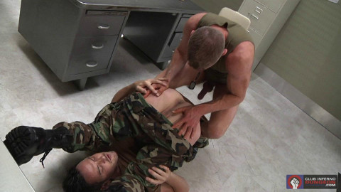 Armed Services, Scene #02 (Evan Matthews, Rex Gravis)