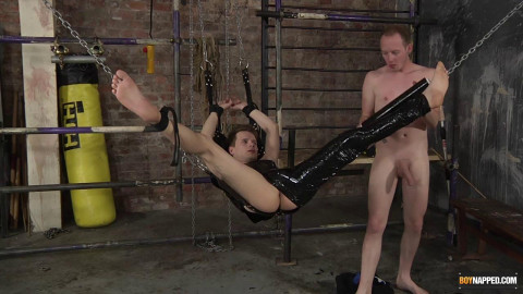 Bound & Buggered Hard In The Swing
