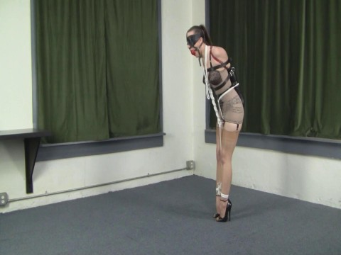 Armbinder, Girdle, and Super Arch Heels