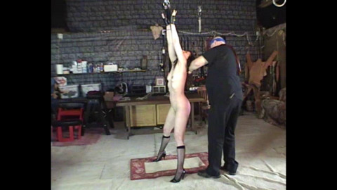 Cindi Whipped In The Barn