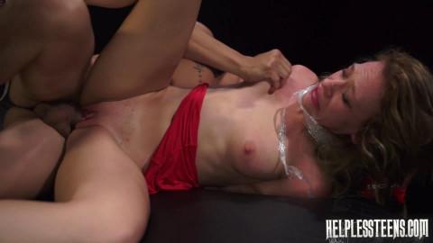 Callie Calypso Endures Domination, Outdoor Rough Sex Rope Bondage for a Ride (2015)