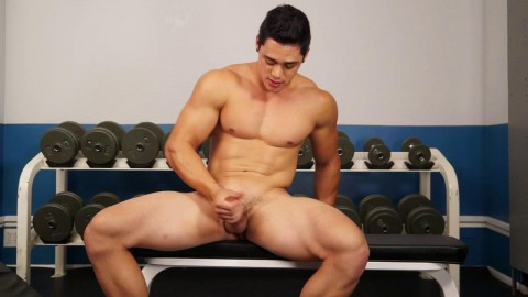 RandyBlue - Darren Ramos in the Gym 720p