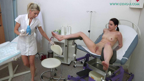 Janet Johnson 19 years Medical Fetish Gyno Exam (2018)