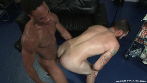 Thick hairy cock bareback