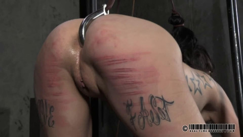 Hard tying, spanking and torment for 2 exposed beauties part2 HD 1080p