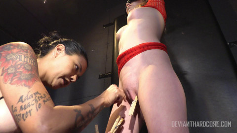 Angel Smalls fucked and fisted by dominatrix