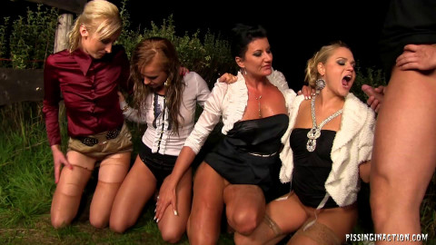 Playful Girls Get Fucked and Golden Showered With Pride