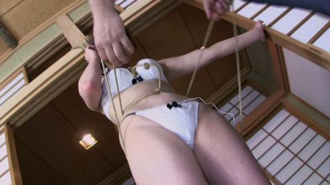 Amemiya Yuka moment - Mitsubishi - Torture  change in pant voice