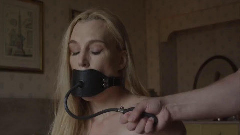 Bondage, domination and wrist and ankle bondage for 2 sexually excited blondes part 1 HD 1080p