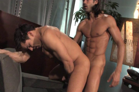 Office Sex With Muscle Guys