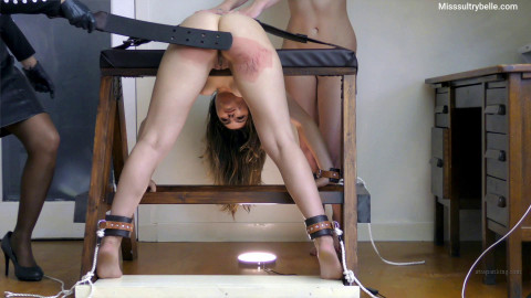 Miss Sultrybelle - Bella Gemma and Ash testing the recent thong