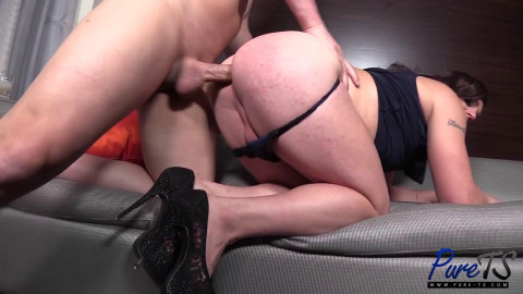 TS Kyra Kork - The End To a Romantic Date With a Beautiful Crossdresser - Full HD 1080p