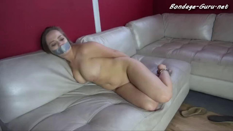 Super restraint bondage, domination and torment for very sexy floozy