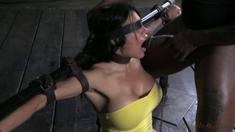Tight bondage, domination and torture for sexy slut