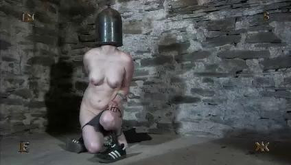 In this session, the bitch is bound up until she looks like