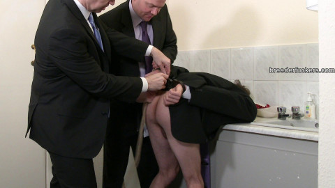 Joe - Restrained in a public shitter,face poked in urinal