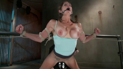 Hard tying, torment and suspension for sexy angel part 1 Full HD 1080p