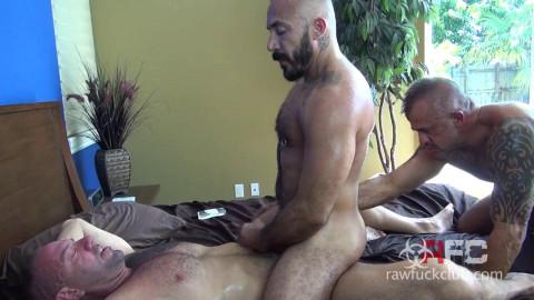Jon Galt, Vic Rocco and Alessio Romero