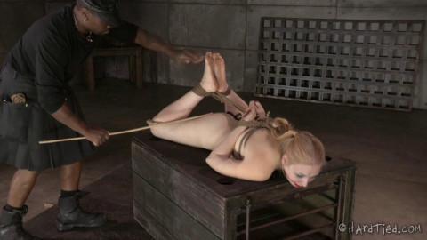 HT - Blondie in Bondage - Delirious Hunter - HD