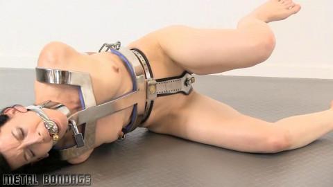 Elise Graves taken down by metal!
