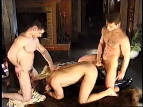 Raw Retro Gangbang At Moscow