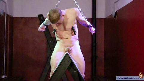 RusCapturedBoys - The Punishment of Guard Vitaliy - Part II