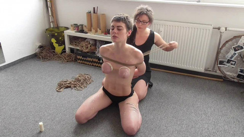 More Home Bound Tit Punishment for Muriel