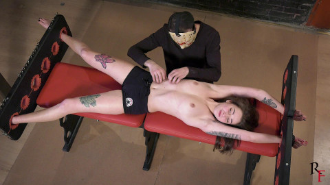 Bdsm Most Popular Topless upperbody tickling with oil