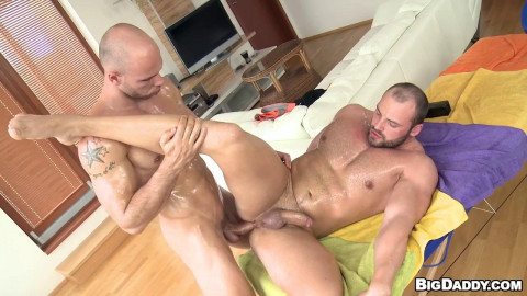 Oiled Up For Anal Pounding