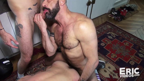 Jizz in mouth and ass
