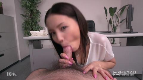 Emiri Okazaki - Sexy Idol. Office Fetish